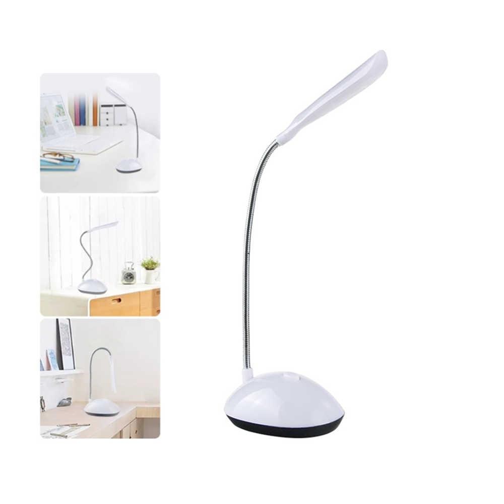 Portable LED batterie lampe de bureau éclairage Flexible LED lampe de Table lecture étude veilleuses décoration cadeau de noël pour les enfants