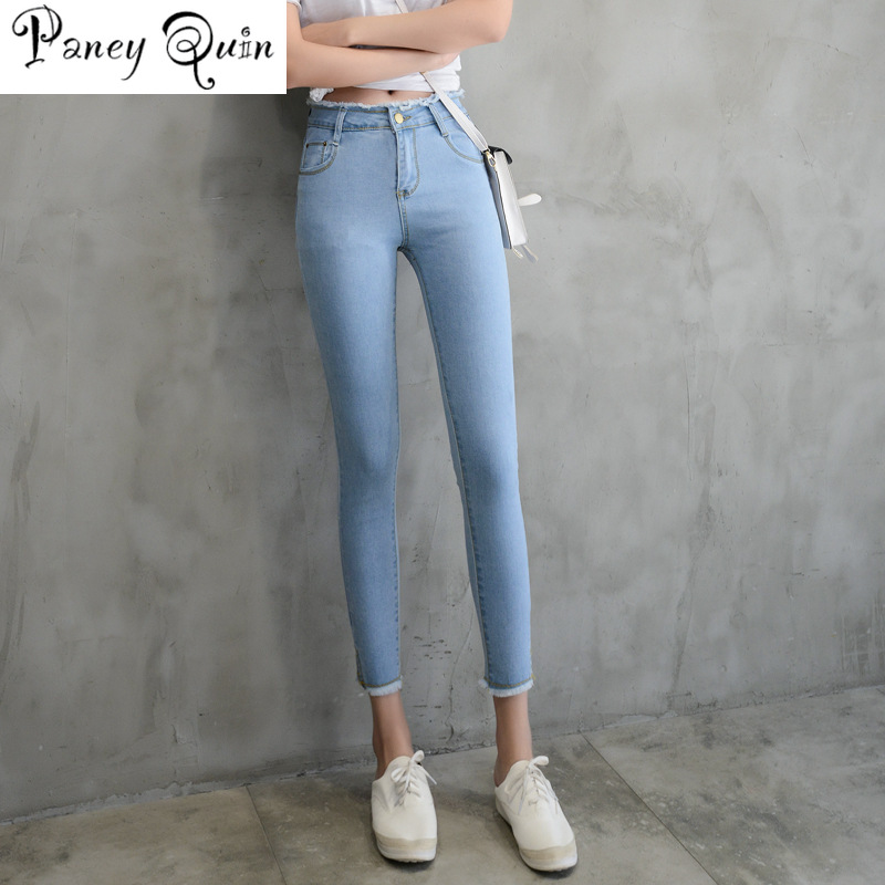 Innocente sella esaurimento  Pencil Jeans Female Denim Pants Womens Skinny Jeans Donna Stretch Bottoms  Feminino Basic Stretch tight Pants For Women Trousers denim pants women  denim pantswomen skinny jeans - AliExpress