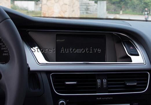 Cadre Decoratif D Interieur Pour Tableau De Bord Pour Audi A4 B8 2013 2015 Aliexpress