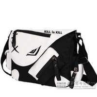 Anime KILL la KILL Cosplay Matoi Ryuuko Cos Anime Shoulder Bag Messenger Bag Male Female Student Canvas Bag Birthday Gift