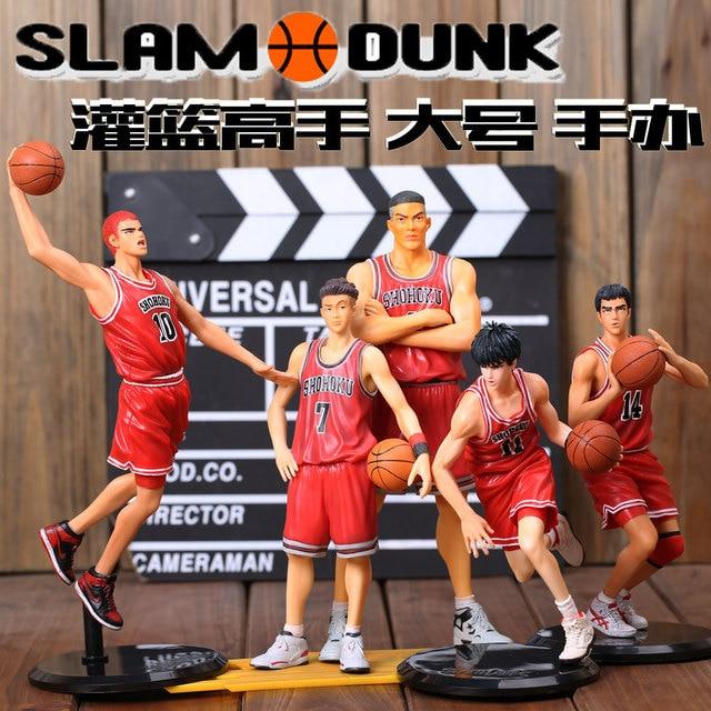 Slam Dunk Shohoku Sakuragi Kaede Rukawa Anime Models Toys