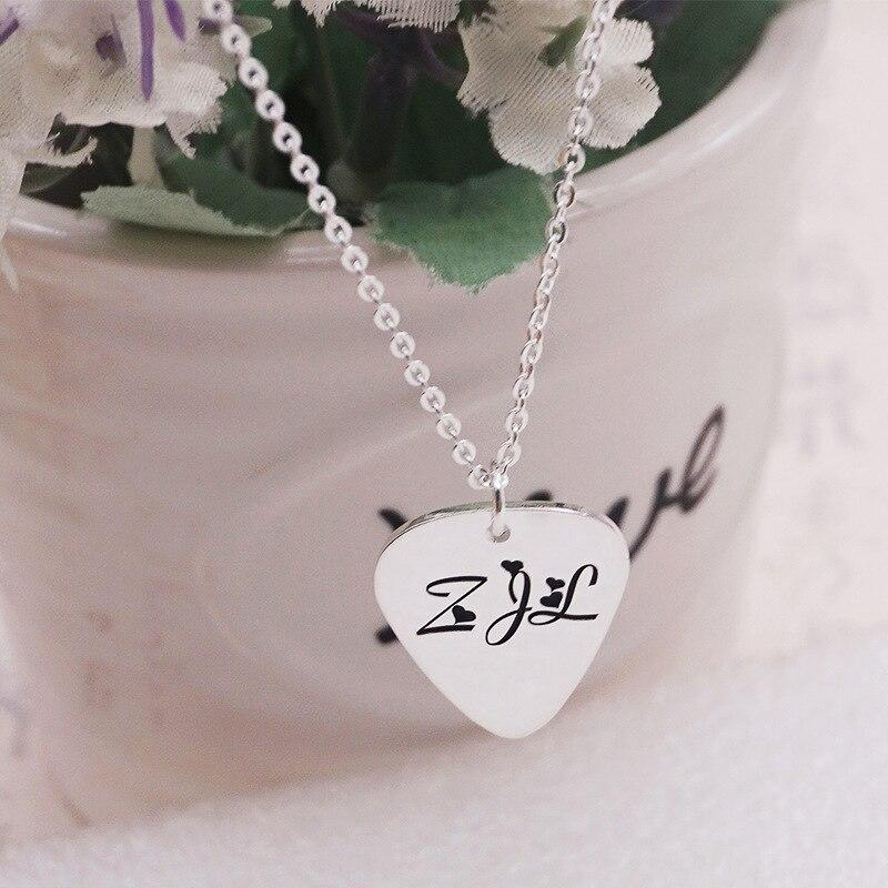 Изготовленный На Заказ Мужская цепь из нержавеющей стали для женщин 925 пробы серебро Цепочки и ожерелья с подвесками с буквенным принтом гр