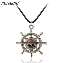 One Piece Leather necklace with Pendant