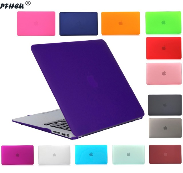 New Hard Crystal Matte Frosted Case Cover Sleeve for MacBook Air 11 A1465 / air 13 inch A1466 pro 13.3 15 A1278 retina 13 A1502
