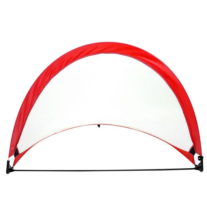 Mini Outdoor Game Soccer Football Goal Net Folding Training Door Net Tent Kids Sport Indoor Toy