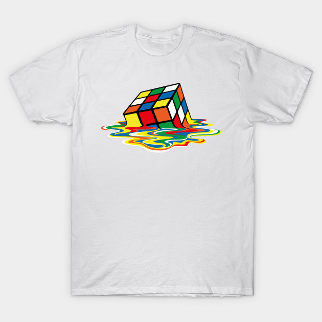 Capable Cube Fight Rubiks Cube Diy Tee T-shirt 2018 Fashion Short Printed Funny T-shirt Men Tops Cmt Tops & Tees Men's Clothing