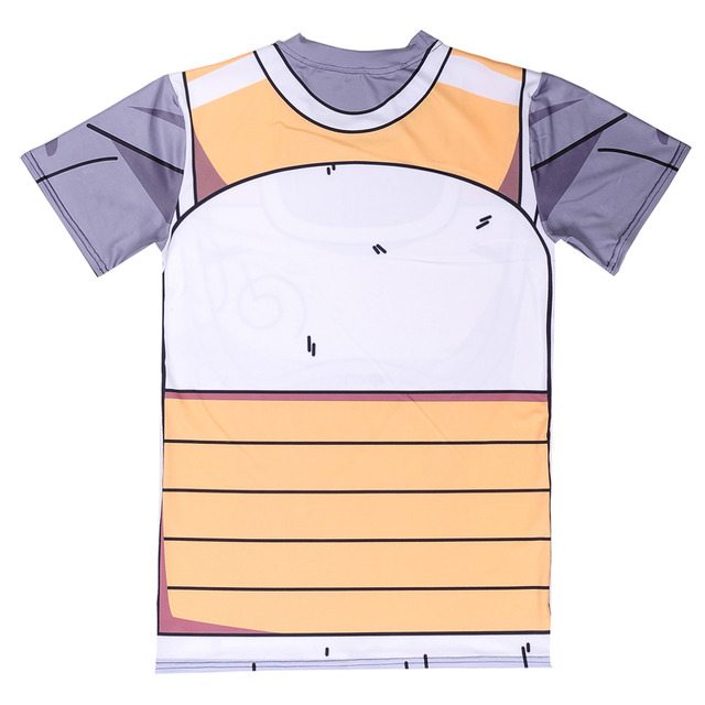 New Classic Anime Dragon Ball Z Super Saiyan 3d t shirt Tees Cartoon Vegeta Armour tshirts Women Men Casual Tee Shirts Tops