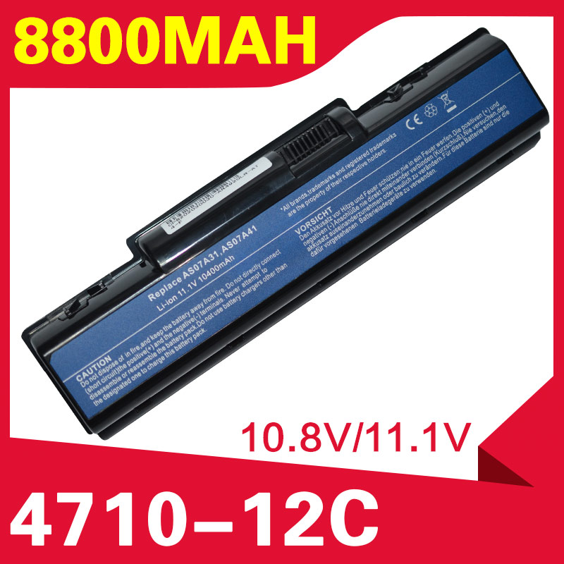 ApexWay 11.1V Battery For Acer AS07A32 AS07A52 AS07A42 AS07A72 AS07A75 4925G 4930 4930G 4935 4935G 4937 4937G 5236 5241 5334 image