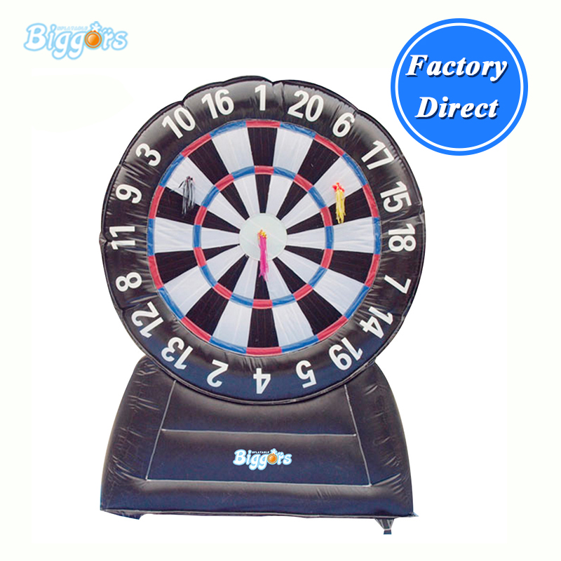 цена Inflatable Dart Game Inflatable Soccer Darts Inflatable Dart Board For Sale