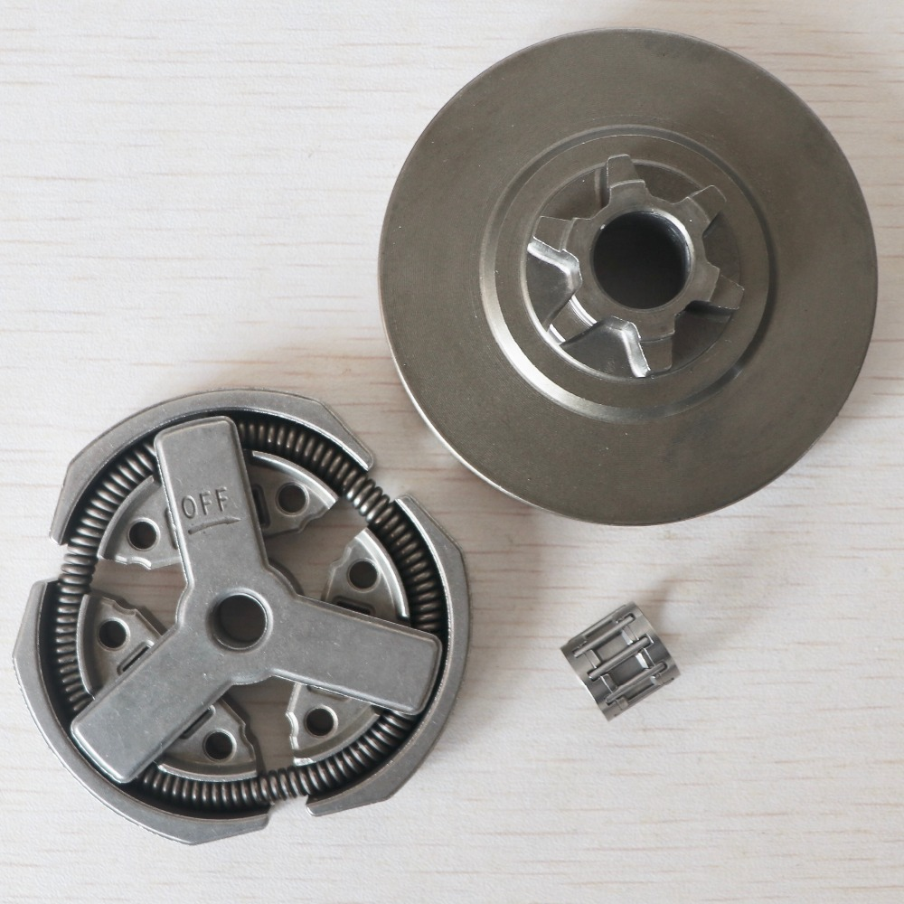 Clutch Drum & Clutch & Needle Bearing Fit For Chinese Chainsaw 3800