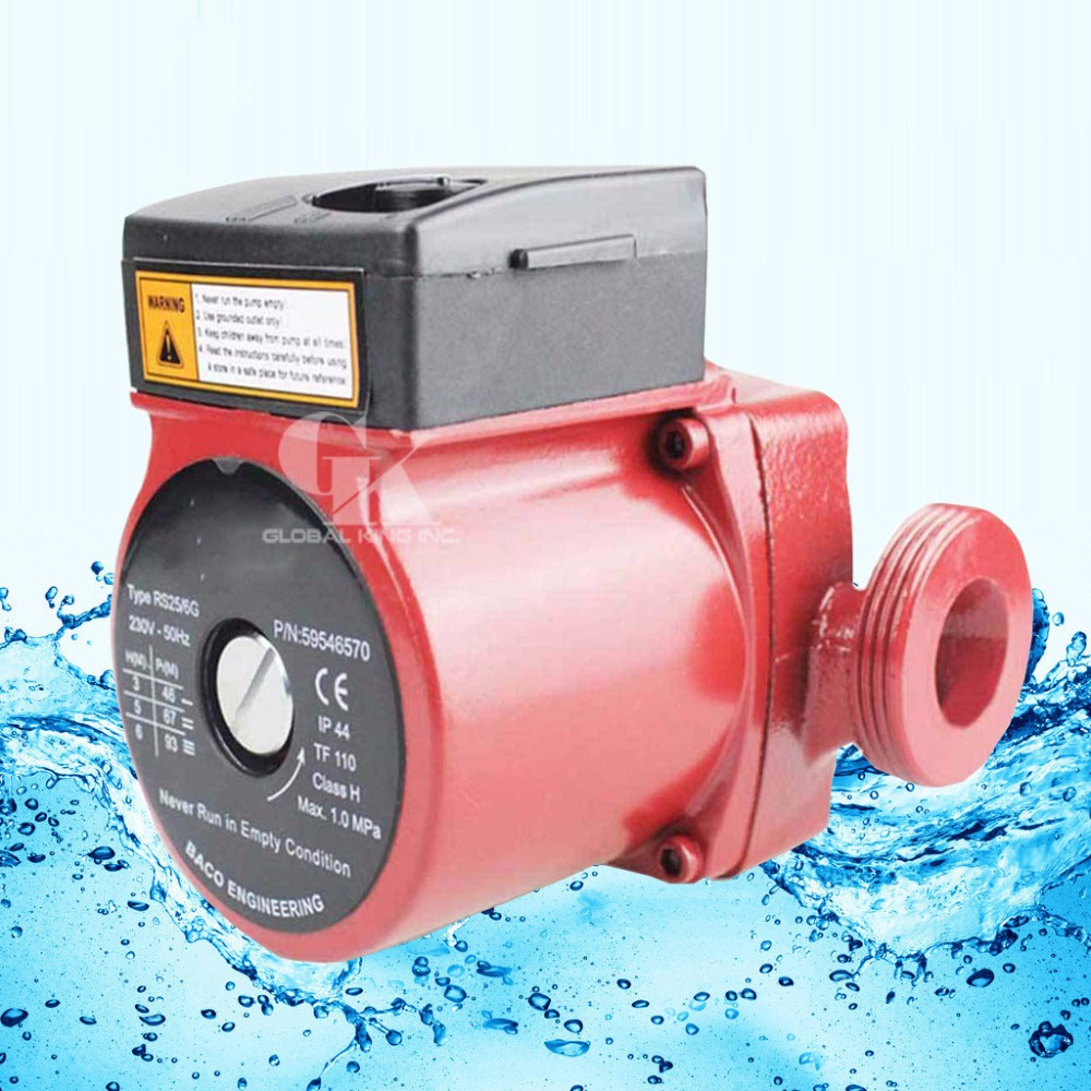 G 1-1/2'', 3-Speed Cold and Hot Water Circulation Pump 220V Circulator Pump for Solar Heater g 1 1 2 hot water circulation pump 220v circulator circulating pump for floor heating system