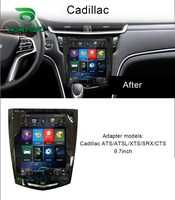 Quad Core 1024*600 Android 6.0 Car DVD GPS Navigation Player Deckless Car Stereo for Cadillac ATS ATSL XTS SRX CTS Headunit