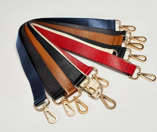 FASHIONS KZ 60 3cm Bag Strap Genuine Leather Shoulder Bag Handle  Replacement for DIY Handbag 28b481c99b414