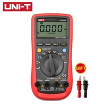 UNI-T UT61A Digital Multimeter True RMS AC DC Meter Software CD & Data Hold Multitester+USB Voltage And Current Monitor ac dc high voltage cd
