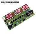 C51 Six 6 Bits Electronic Clock Electronic Production Suite LED Display DIY Kits 7-12V