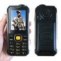 Kuh t998 banco de la energía 15800 mah mp3 mp4 bluetooth 3.0 cámara de la linterna FM sin necesidad de auriculares de doble tarjeta SIM de teléfono móvil resistente P004