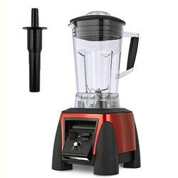 Superciężki Duty handlowe profesjonalny blender o dużej mocy sokowirówka robot kuchenny mikser 3HP 45000 obr/min 2200W BPA za darmo 2L słoik w Blendery od AGD na