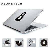 2X Cute Cartoon Doll Laptop Sticker For Apple Macbook Pro Air Retina 13 15 11 12