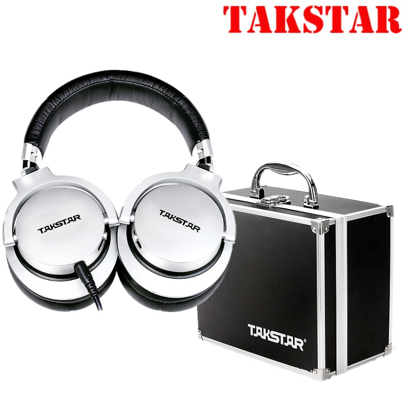 Original Takstar PRO82 pro 82 Professional monitor headphones for stereo PC recording bass adjustable with suitcase