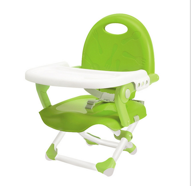 Foldable Baby booster Chair Desk Dining Chair With Plate Infant High Table Multifunctional Chairs Feeding Kids Dining Chair
