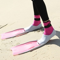 Snorkel Swim Fins Neoprene Swimming Flipper Anti slip Diving Fins For Adults Neoprene Flippers For Snorkeling Surfing