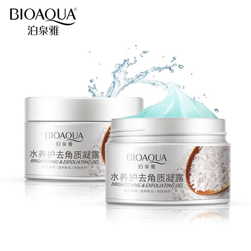 BIOAQUA Brand Skin Exfoliating Gel Whitening Cream Hydrating Moisturizing Cream Shrink Pores Brightening Face Body Skin Care bioaqua exfoliante para pies