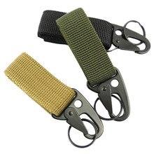 Carabiner Nylon Keychain Clasp Backpack Hooks