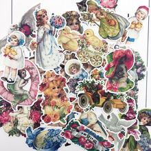 25pcs Hand Drawing Flower Fairy sticker Decorative Stickers for Notebook Planner Scrapbooking, DIY Paper Sticker vintage airplane stamps paper environmental stickers decorative diy travel notebook planner sticker scrapbooking