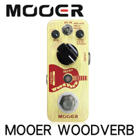 Mooer WoodVerb Acoustic Guitar Reverb Pedal Analog Reverb Guitar Effects Pedal 3 Working models True Bypass