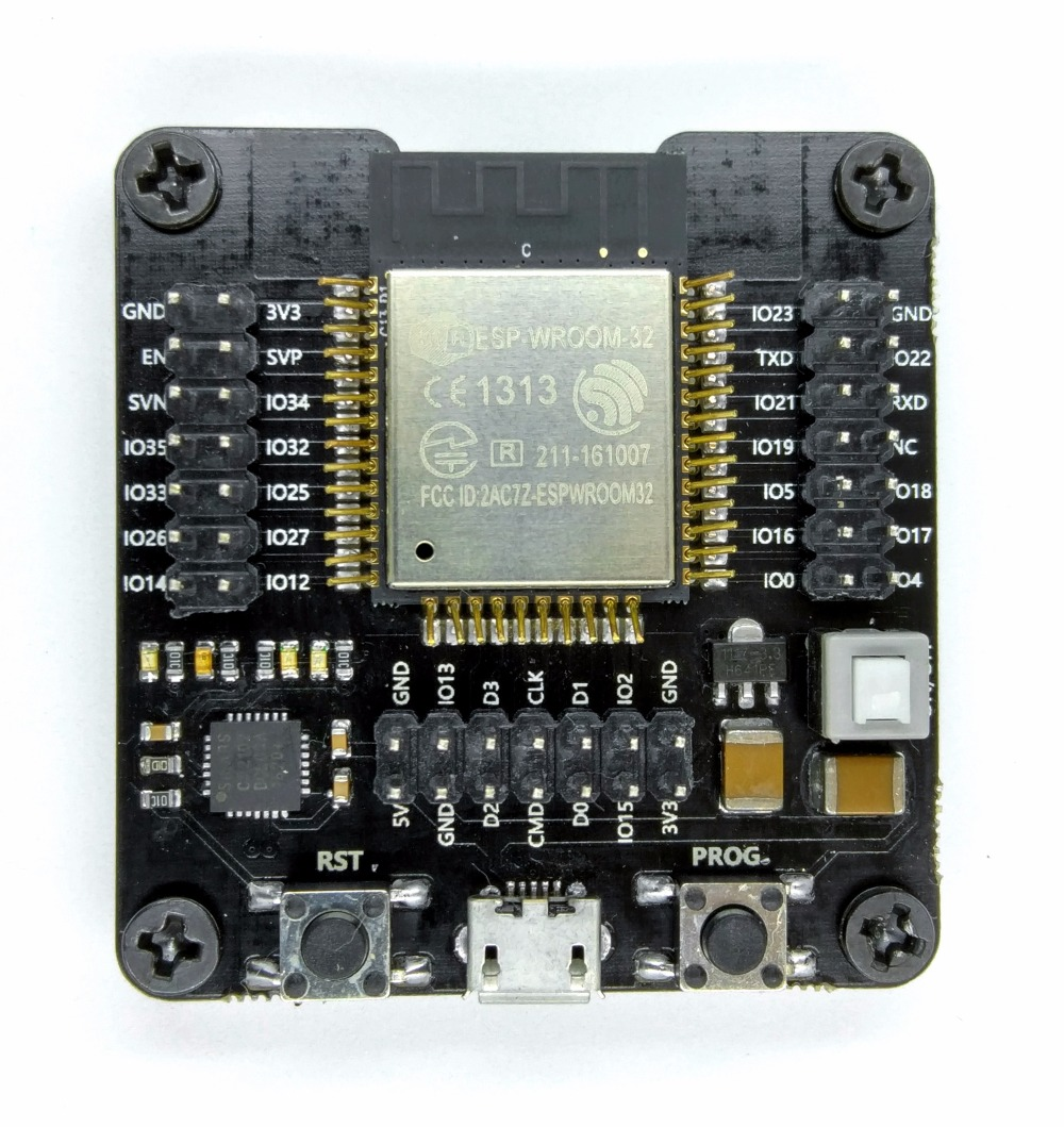Esp32 Test Board Small Batch Burn Fixture Min System Development 10pcs Ams1117 33v 1a Voltage Regulator Electrodragon Programming Module Burning Without