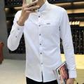 Alta calidad nueva marca de manga larga camisas para hombre L ~ XXXL hombres Casual camiseta de diseñador ¡ envío gratis para hombre Camisa Masculina