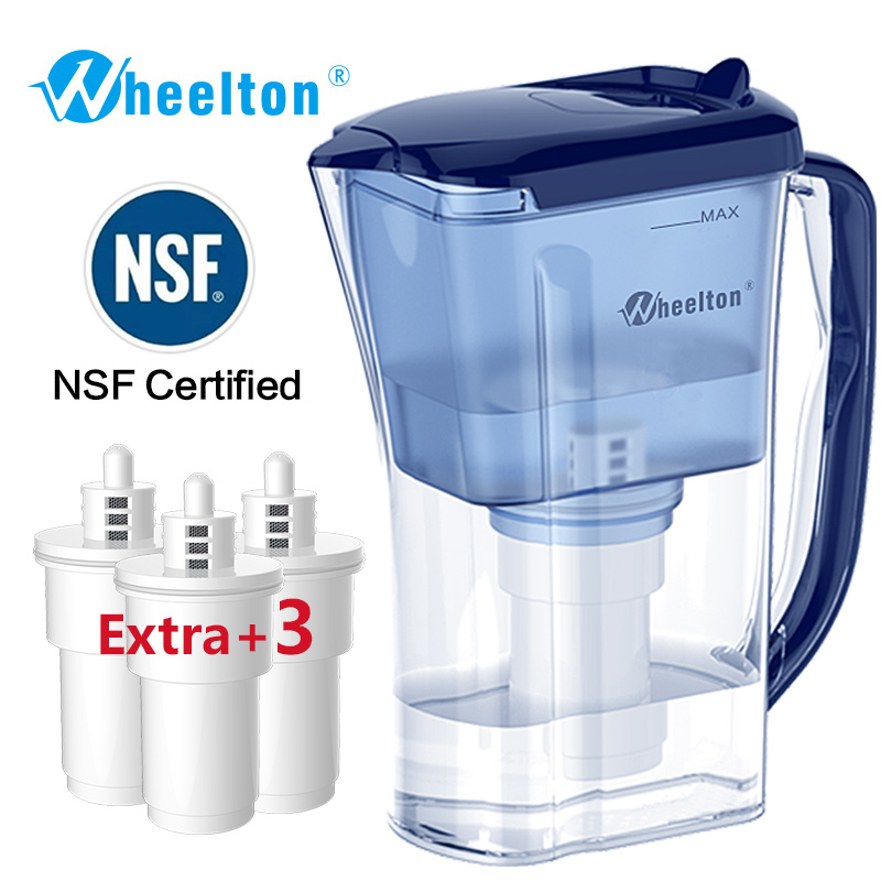 Wheelton Household and Picnic Dual Filter Kettle and Attach extra 3 cartridge Water Filter Water Purifier