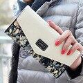Fashion Flower Women Wallet Flower Long Wallets New Popular Portable Change Purse Wallet Delicate Casual Lady Cash Purse