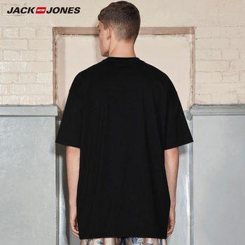 JackJone 2019 spring new Astrid Andersen cooperation short-sleeved T-shirt | 2181T4584