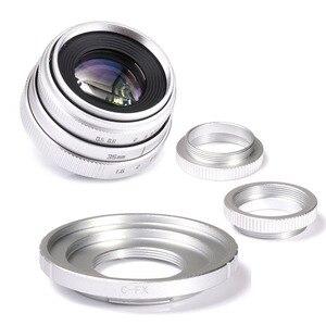 Image 3 - Fuji an 35mm f1.6 C lente de cámara de montaje CCTV II + C anillo adaptador de montura + Macro para Fuji film X Pro1 (C FX)