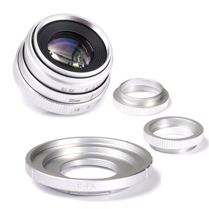 Image 3 - fujian 35mm f1.6 C mount camera CCTV Lens II +C mount adapter ring+Macro for Fuji Fujifilm X Pro1 (C FX)