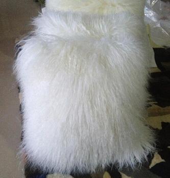 Funda de cojín de decoración para el hogar funda de almohada de piel de oveja mongol