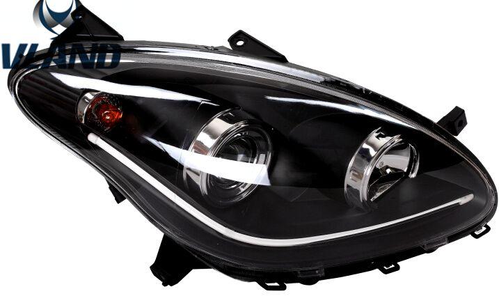 VLAND car headlamp for MYVI LED Headlight RHD LHD right hand driving