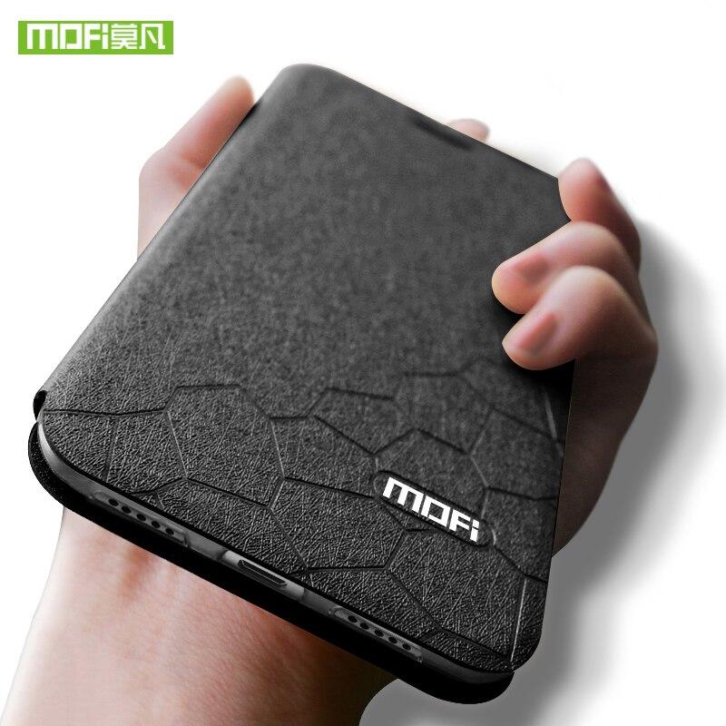 Für Xiaomi Redmi Hinweis 6 Pro Fall Abdeckung für Xiaomi Redmi Hinweis 6 Fall MOFi Silikon note6 Flip Leder 6,26 für Redmi Hinweis 6 Fall