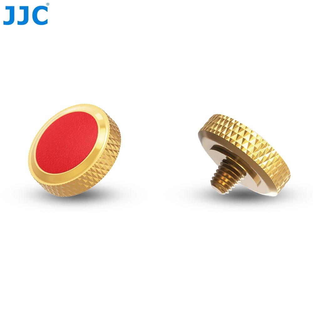 JJC Luxurious Metal Camera Shutter Soft Release Button for Leica MType240/Fuji X100/X100T/X100F/X-T2/X-T10/X-T20/X-E3/X-PRO/Sony