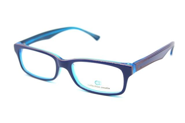 ПОДЛИННАЯ РУЧНОЙ Рамки МОДА Синий Творческий Очки Кадр Заказ оптические очки Для Чтения Фотохромные ЛИНЗЫ + 1 + 1.5 ДО + 8