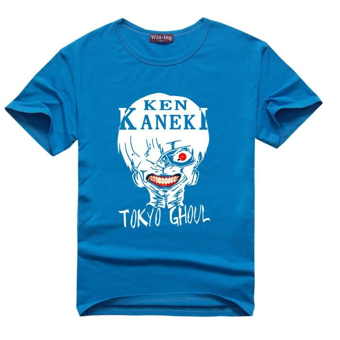 Tokyo Ghoul T Shirt Kaneki Ken Men Boy Anime T-shirt Manga Tshirt Tee Uta Mask