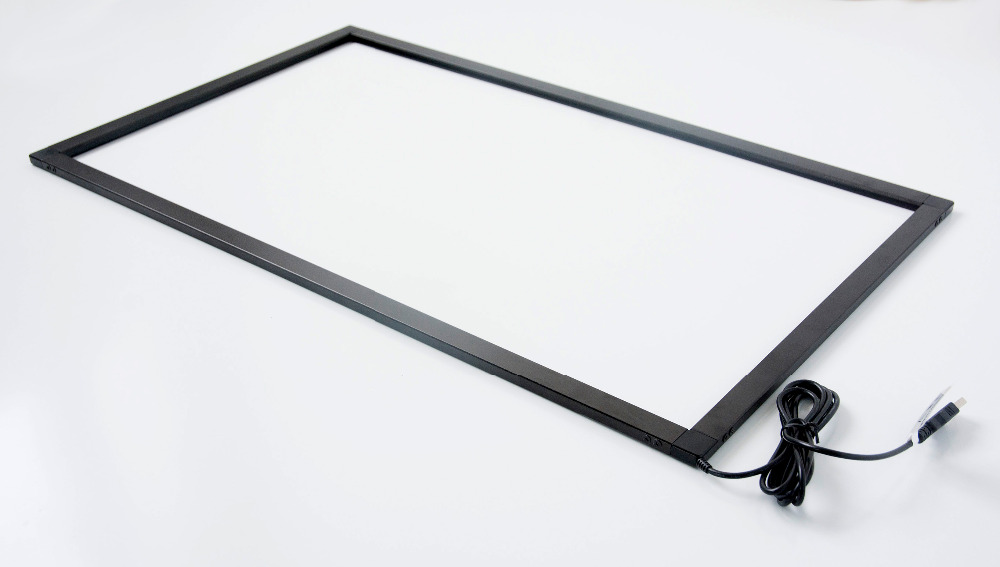 84 inch infrared IR commercial touch screen conversion frame,usb ...