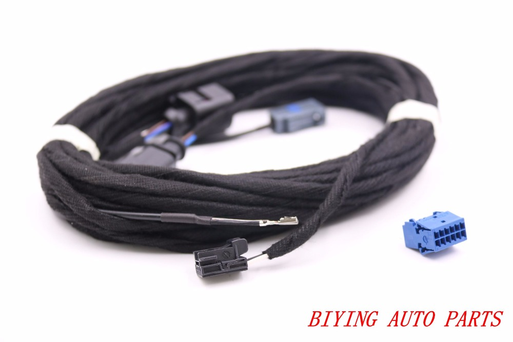 OEM Rear View Camera Reversing Logo Camera Cable Wire Harness For VW Golf 7 MK7 VII цена