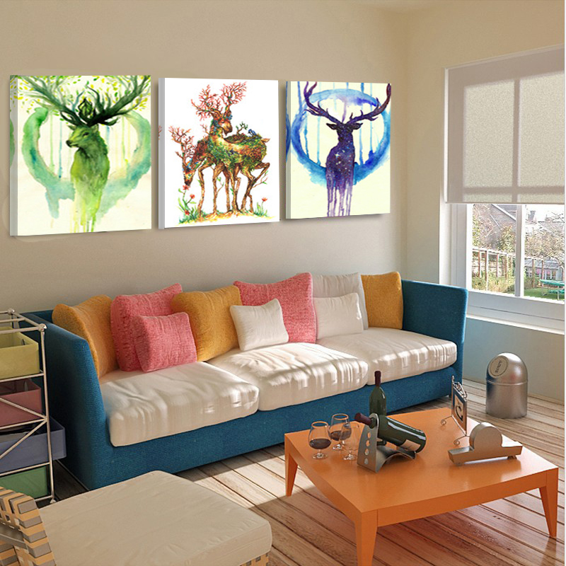Home Decor Canvas Painting Abstract Art Modern Wall