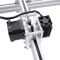 dc 12v חיתוך לייזר מיני Eastshape 40x50cm DC שולחניים DIY 300-5500mw 12V / חריטה חרט מכונת CNC קאטר 5500MW מדפסת (4)