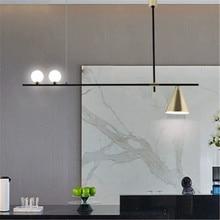 Скандинавский минималистичный дизайн волшебных бобов, подвесной светильник в сдержанном стиле для гостиной, музыкального ресторана, кофе, столовой, кухни, светодиодный подвесной светильник