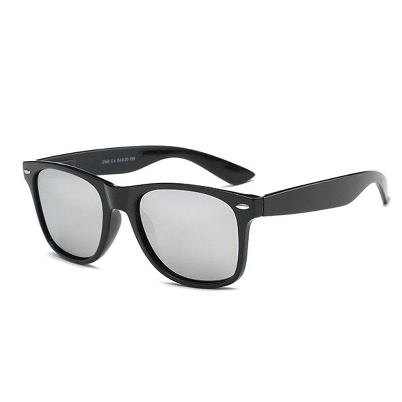 AMII Fashion Unisex Square Vintage Polarized Sunglasses mens Polaroid Women Rivets Metal Design Retro Sun glasses gafas oculos 2
