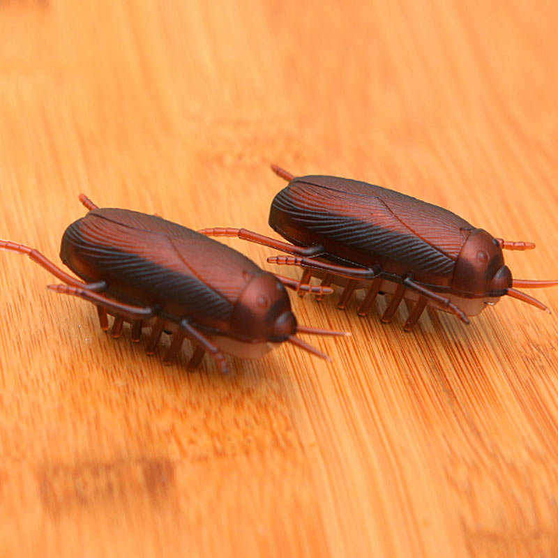 Electronic Trick-Playing Toy Simulation Insect Crawl Cockroaches/ Mouse Vibration Toys @ NSV775