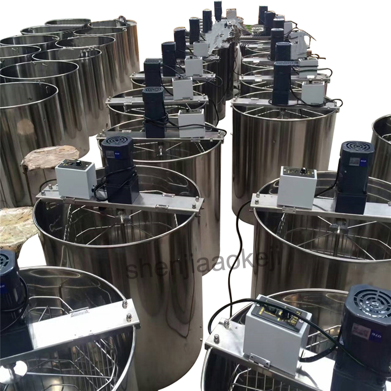 Stainless steel Six-frame 220V/110V electric honey extractor Thickening frame honey separators machine honey processing machine керамогранит 22 5х90 frame honey ясень